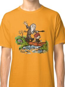 Lord of the Rings meets Calvin and Hobbes Classic T-Shirt