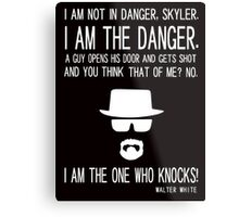 Knocks 2 Metal Print