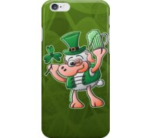 Saint Paddy's Day Sheep Drinking Beer iPhone Case/Skin