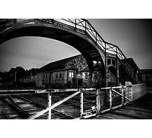 Beamish Pedestrian Railway Bridge Photographic Print