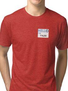Fight Club - Hello I'm Tyler Tri-blend T-Shirt