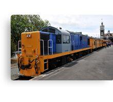 Railway Locomotive Canvas Print