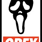 OBEY Scream by Royal Bros Art
