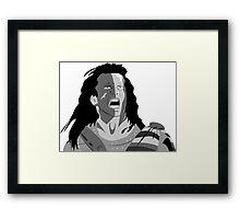 Mel Gibson Braveheart Framed Print