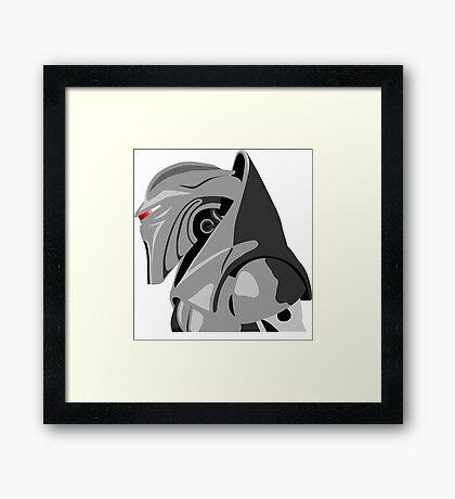 Cylon from Battlestar galactica Framed Print