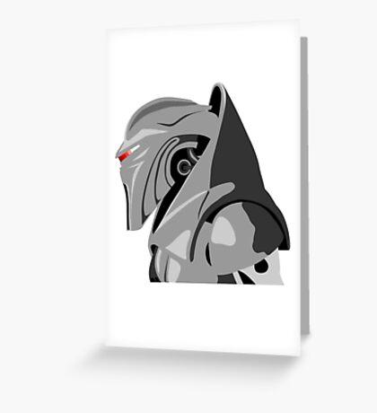 Cylon from Battlestar galactica Greeting Card
