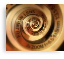 3 x Zoom Lens Canvas Print