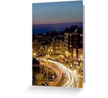 Brighton Cityscape at Night Greeting Card