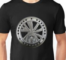Indian Chief Horn Face Unisex T-Shirt