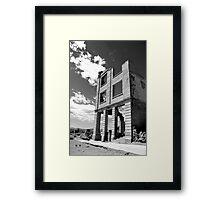Cook Bank Building Framed Print
