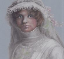 A Bride, c.1900 by Pam Humbargar