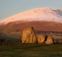 Last Light - The Stones & Blencathra by SteveMG