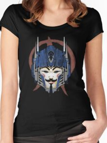 Anonymous Prime Women's Fitted Scoop T-Shirt