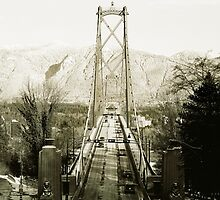 Lions Gate Bridge, British Columbia by Z Roberts