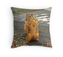 Oh Nuts.... Throw Pillow