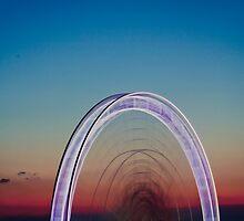 Sunset Spin by Erika  Szostak