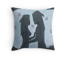 Love Unleashed Throw Pillow