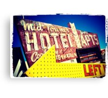Neon Mid Towner Canvas Print