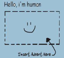 Hello, i'm human Kids Clothes