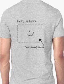 Hello, i'm human T-Shirt