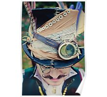 Steampunk Mad Hatter Poster