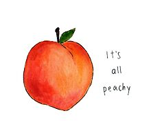 It's all peachy by Nutellalover15