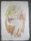Life drawing/female nude/(2 of 2b) -(150212)- watercolour/digital photo by paulramnora