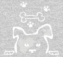 Doggie (Light print version) One Piece - Long Sleeve