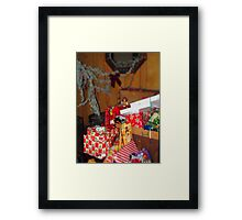 Tons of toys Framed Print