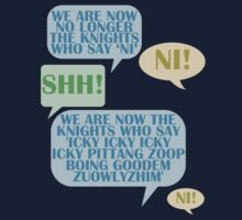We are now no longer the knights who say 'Ni'  by BobbyMcG