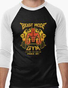 Beast Mode Gym Men's Baseball ¾ T-Shirt