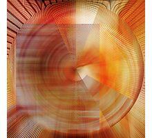 Turmoil, Radial Photographic Print
