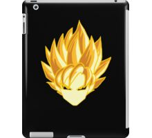 super saiyan head iPad Case/Skin