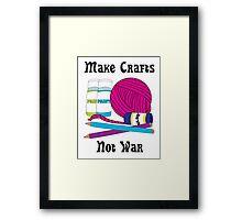 Make Crafts Framed Print