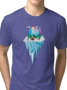 Geometrical Landscape Tri-blend T-Shirt
