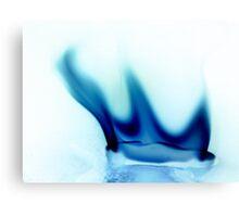 the blue flame Canvas Print