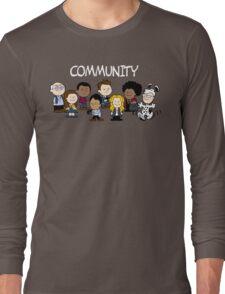 Greendale's Peanuts  Long Sleeve T-Shirt