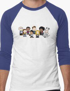 Greendale's Peanuts  Men's Baseball ¾ T-Shirt