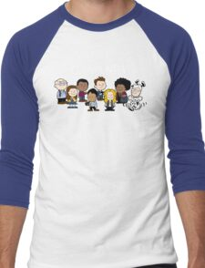 Greendale's Peanuts  Men's Baseball ¾ T-Shirt