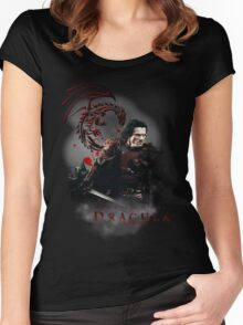 Dracula Untold Women's Fitted Scoop T-Shirt