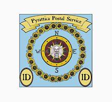 Pyrattica! Pirate Map Compass Postage Stamp Unisex T-Shirt