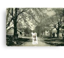Civil War Ghost Canvas Print