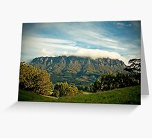 Mount Roland Greeting Card