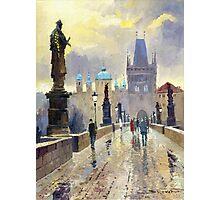 Prague Charles Bridge 02 Photographic Print