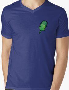 Earth Badge Mens V-Neck T-Shirt