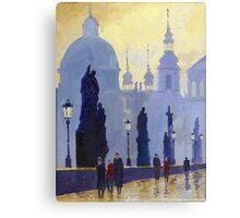 Prague Charles Bridge 03 Canvas Print
