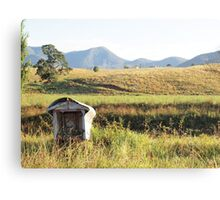 overgrown mail  Canvas Print