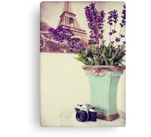 Dreaming Of Paris Canvas Print