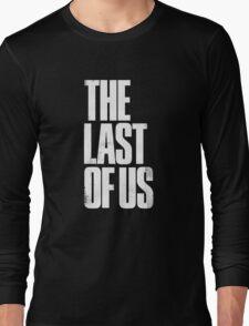 The Last Of Us - White Logo Long Sleeve T-Shirt