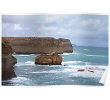 12 Apostles, Great Ocean Road, Victoria , Australia Poster